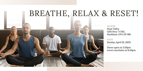 Breathe, Relax & Reset! - yoga night tickets