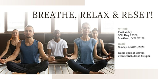 Breathe, Relax & Reset! - yoga night