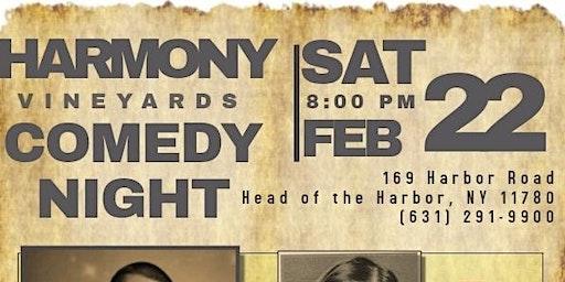 Comedy Night at Harmony Vineyards