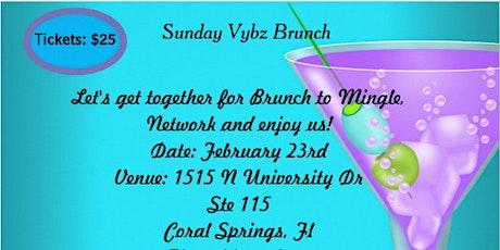 Sunday Vybz Brunch tickets
