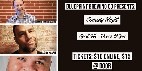 Comedy Night @ Blueprint Brewing Co. tickets