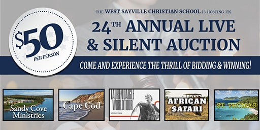 WSCS 24th Annual Live & Silent Auction