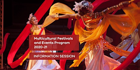 Community Information Session - Multicultural Festivals and Events Grants tickets