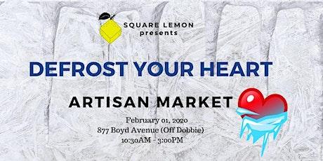 Defrost Your Heart Craft Market tickets
