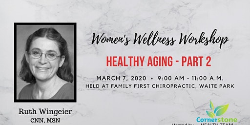 Healthy Aging for Women Part 2