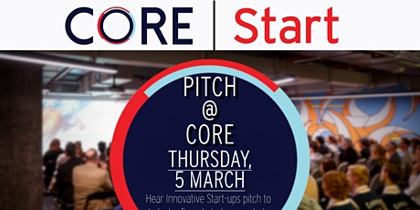 Pitch @ CORE tickets