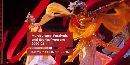 Community Information Session - Multicultural Festivals and Events Grants