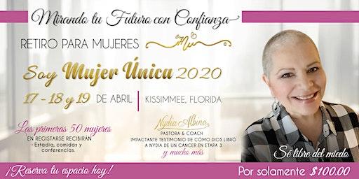 RETIRO PARA MUJERES SOY MUJER ÚNICA 2020