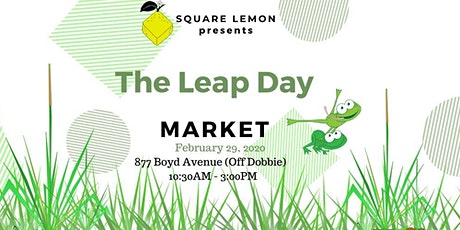The Leap Day Craft Market tickets