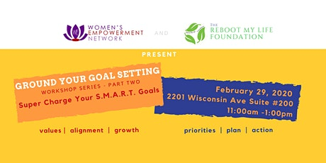 Grounding Your Goal Setting Workshop  Series tickets