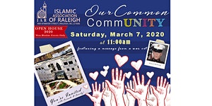 Open House 2020: Our Common CommUNITY