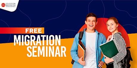 Free Migration Seminar Melbourne(February 2020) tickets