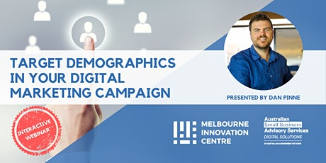 [WEBINAR] How to Target Demographics in Your Digital Marketing Campaign tickets