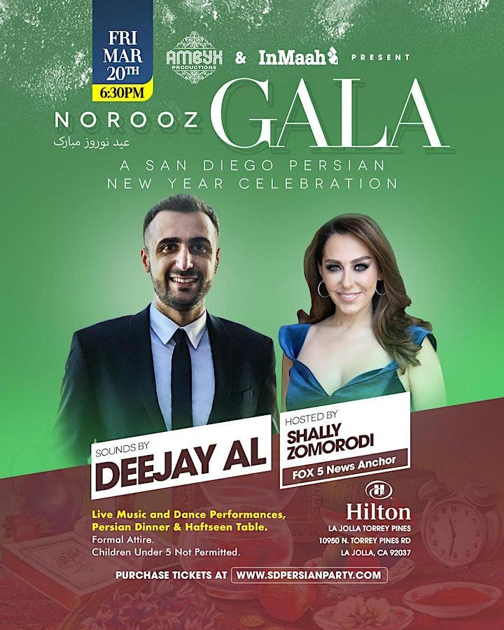 Canceled - San Diego Norooz 1399 Gala (2020) image