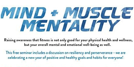 MIND + MUSCLE MENTALITY