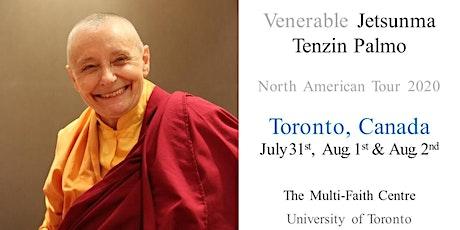 Jetsunma Tenzin Palmo  Toronto tickets