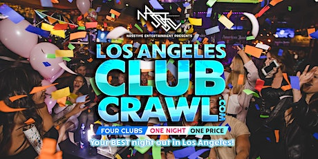 Los Angeles Club Crawl tickets