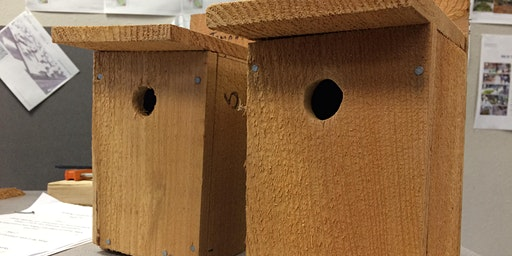 SOLD OUT- Birdhouse Building Workshop at Alma Mater