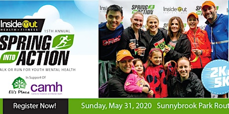 15th Annual Spring Into Action Walk or Run for Youth Mental Health tickets