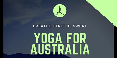 YOGA FOR AUSTRALIA  tickets