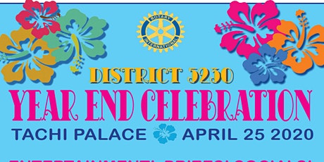 District  5230 Year End Celebration tickets