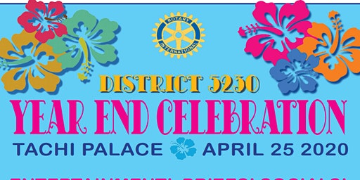 District  5230 Year End Celebration