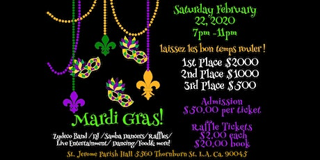 St. Jerome Annual Mardi Gras Fundraiser Party! tickets