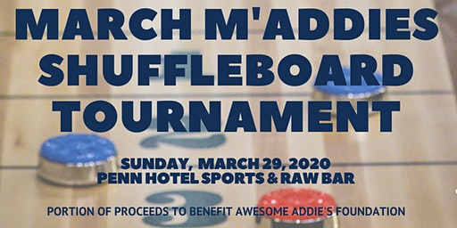 March M'Addies Shuffleboard Tournament