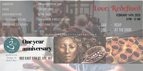1 year Anniversary Celebration - Valentines Day Cacao- tickets