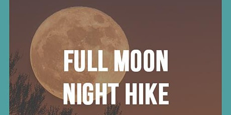 Camping Noire Full Moon Night Goddess Hike - NJ tickets