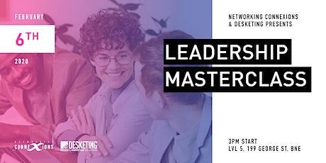 Leadership Masterclass:  | Brisbane Business Networking Event tickets