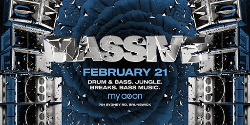 MASSIVE 003 • DnB • Jungle • Breaks • Bass