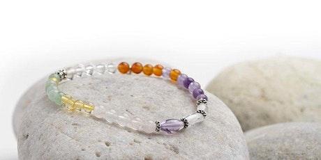 Bracelet making workshop -  Sterling Silver & Gemstones on Elastic tickets