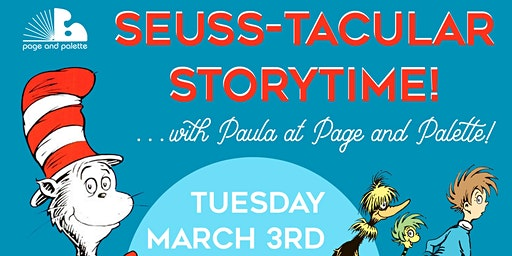 Seuss-tacular Storytime with Paula!