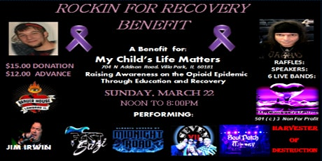 Rockin' for Recovery tickets