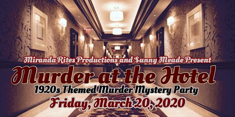 Murder at the Hotel  tickets