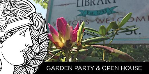 GARDEN PARTY & OPEN HOUSE