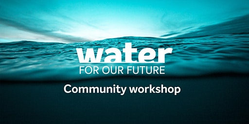 Water For Our Future community workshop: Torquay