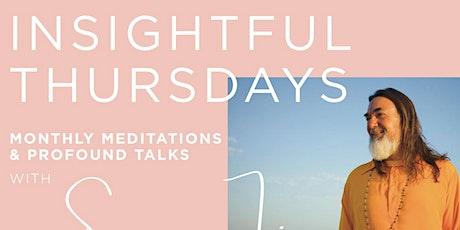 Insightful Thursdays with SWAMIJI tickets