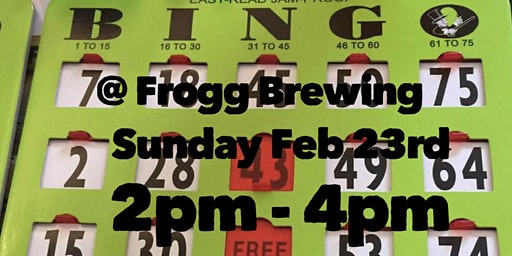 Bingo @ Frogg Brewing