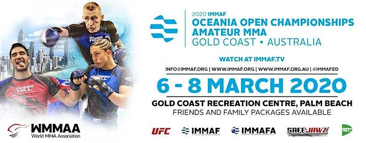 IMMAF Oceania Tournament image