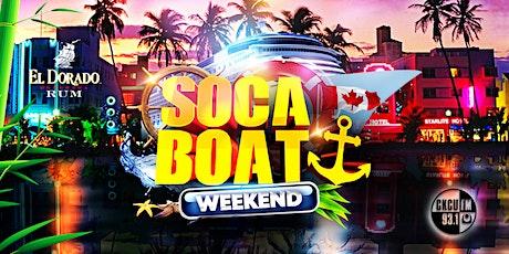 SOCA BOAT 2021 tickets