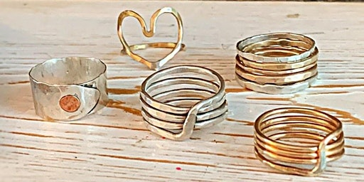 Rings! Solder & Forge Your Own  Stacking Set