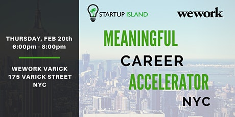 The Meaningful Career Accelerator tickets