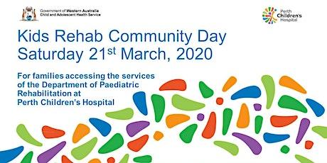Kids Rehab WA Community Day at Perth Children's Hospital tickets
