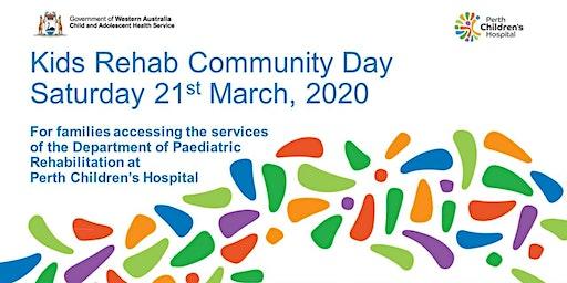 Kids Rehab WA Community Day at Perth Children's Hospital