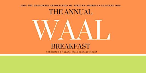 The Annual WAAL Breakfast 2020