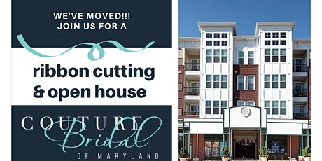 Couture Bridal of Maryland Ribbon Cutting and Open House tickets
