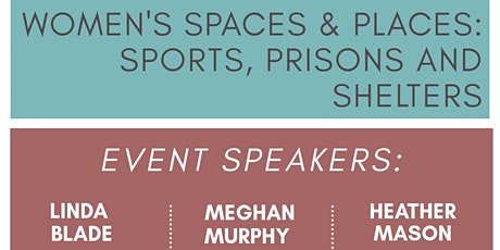 #GIDYVR Women's spaces & places: sports, prisons, and shelters tickets