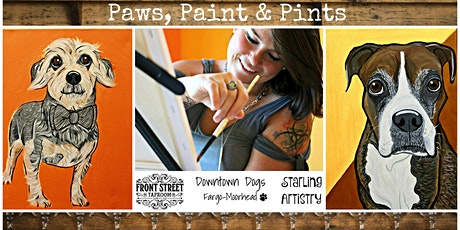 Paws, Paint & Pints 02/24 tickets